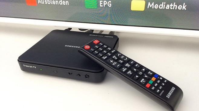 Der große Test: DVB-T2-Receiver 2019 DVB-T2 Receiver im Test: Der Samsung GX-MB540 überzeugte mit einfacher Bedienung©COMPUTER BILD