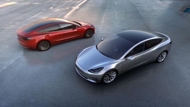 Tesla Modell 3©Tesla