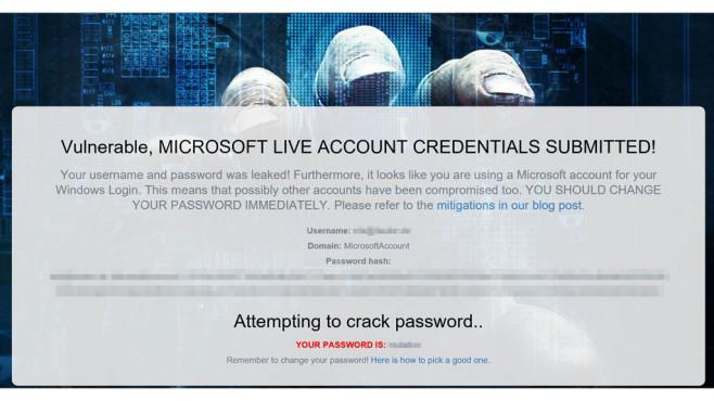 Microsoft-Hack©COMPUTER BILD
