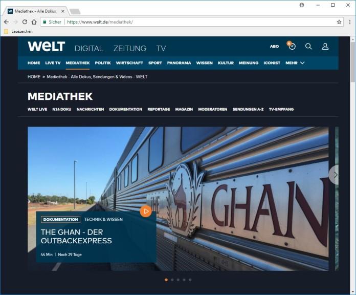 Welt-Mediathek (ehemals N24) - Download - COMPUTER BILD