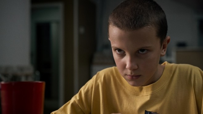 Szene aus Stranger Things: Millie Bobby Brown © Courtesy of Netflix