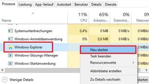Windows 8/10: Tastenkombination Windows-X funktioniert nicht©COMPUTER BILD