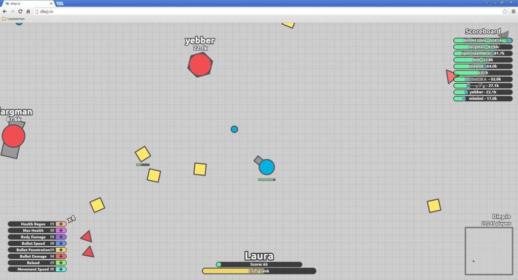 Screenshot 1 - Diep (Diep.io)