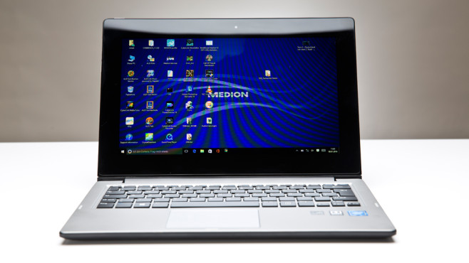 Medion Akoya E2211T: Convertible for 249 Euros in the Test