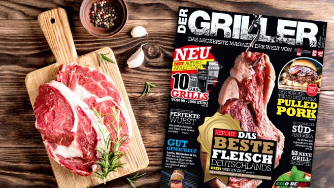 DER GRILLER: Die neue Ausgabe ist da!©Copyright: COMPUTER BILD, ©istock.com/ivandzyuba
