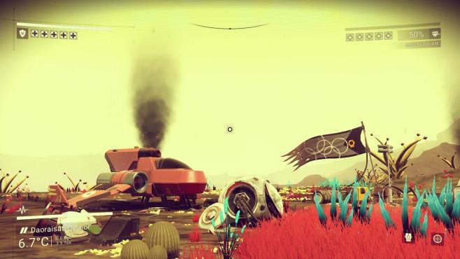 No Man's Sky - Absturzstelle ©Hello Games