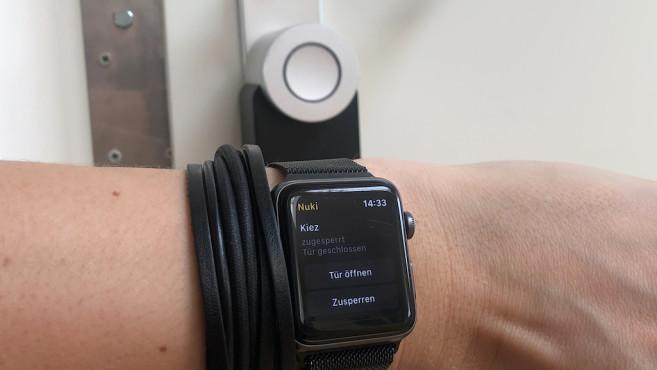 Nuki per Apple Watch steuern©Nuki, COMPUTER BILD