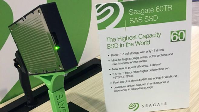 Seagate 60 TB SSD©Seagate