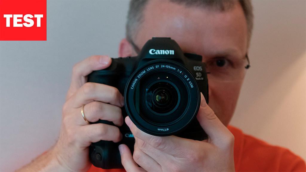 Canon eos d mark iv test profi dslr audio video foto bild