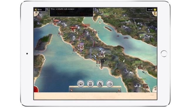 Rome – Total War iPad©Feral Interactive/Sega