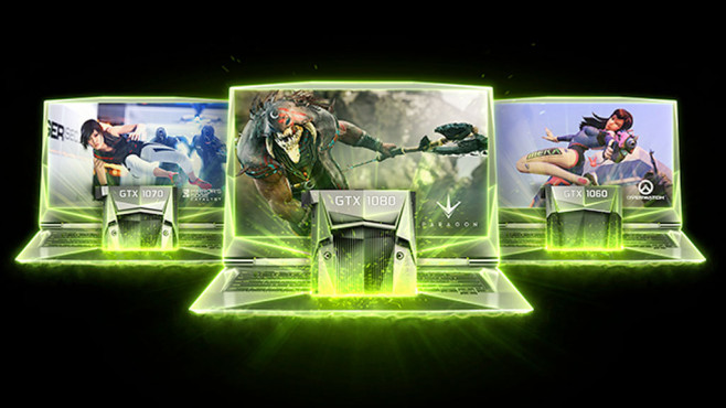 Nvidia: GTX 1080 Notebook©Nvidia