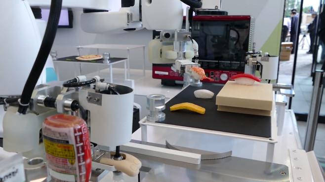 Sushi Roboter©Kawasaki/Youtube