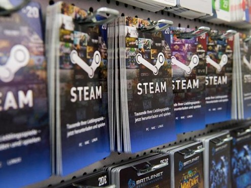 Steam-Guthaben Karten©dpa/Franziska Gabbert