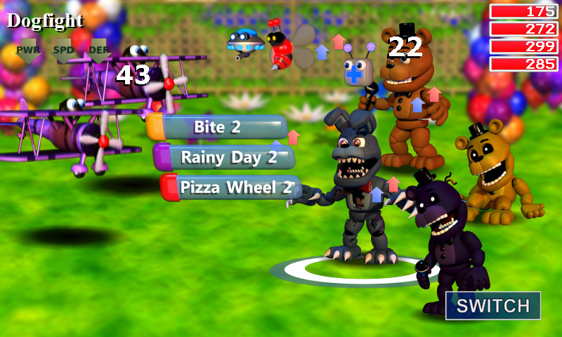 Screenshot 1 - FNaF World