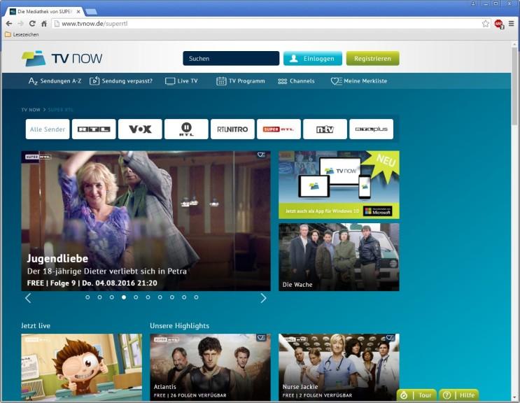 Screenshot 1 - Super-RTL-Mediathek