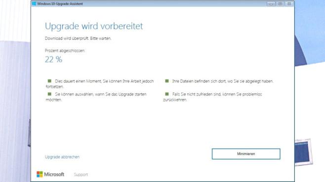 Platz 34: Windows 10 Update Assistent (neu) ©COMPUTER BILD