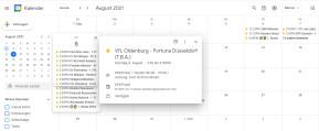 DFB-Pokal 2021/2022: Spielplan für Outlook, Google Calendar, iPhone & Android