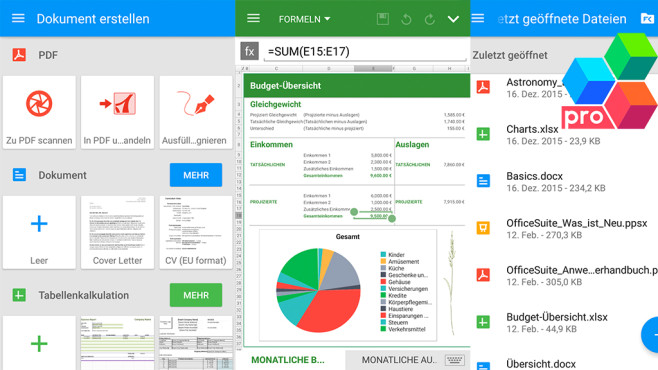 OfficeSuite Pro ©MobiSystems