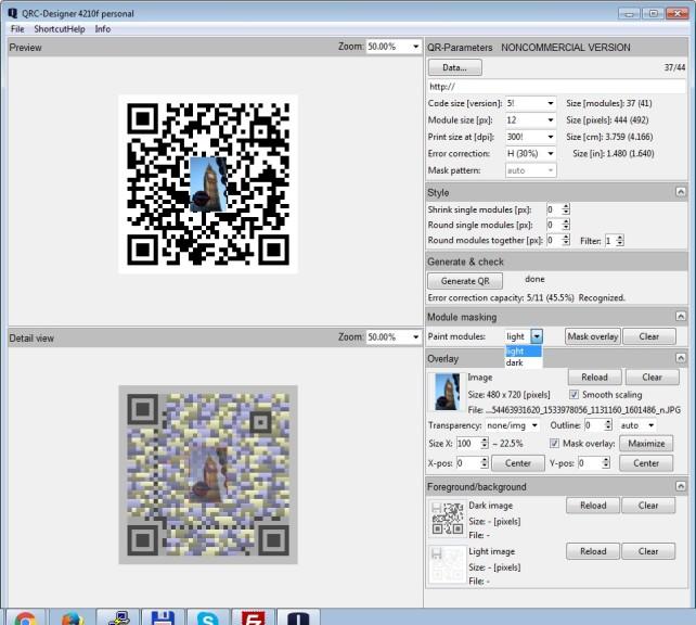 Screenshot 1 - QRC-Designer