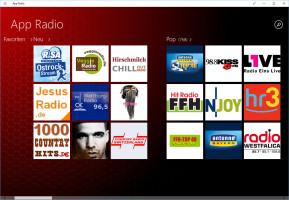 App Radio (App für Windows 10 & 8)