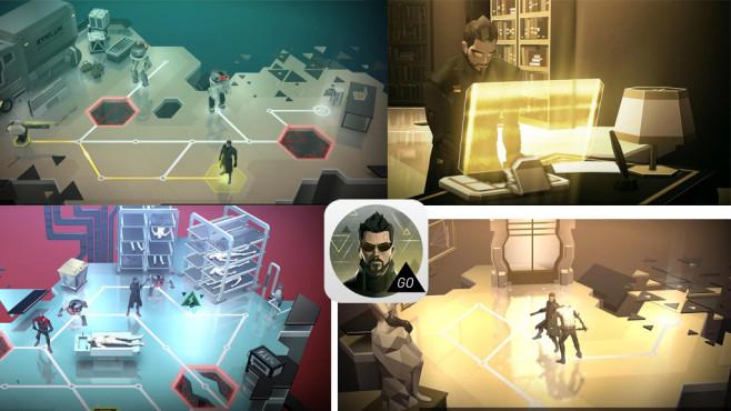 Deus Ex Go ©Square Enix