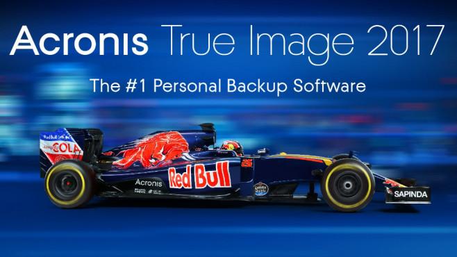 Acronis True Image 2017©Acronis, Formel 1