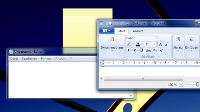 Büro-Software – Windows 7 ©COMPUTER BILD