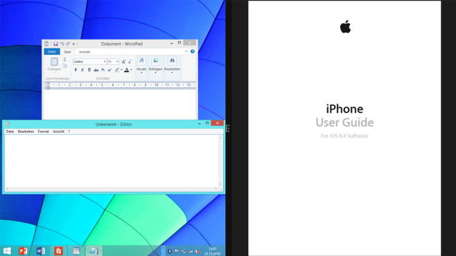 Büro-Software – Windows 8 ©COMPUTER BILD
