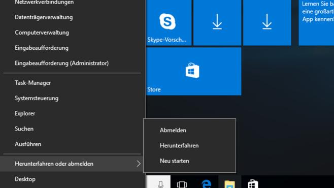 Hochfahren – Windows 10 ©COMPUTER BILD