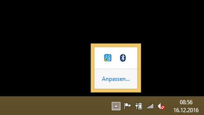 Infobereich – Windows 8 ©COMPUTER BILD