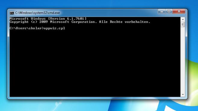 Kommandozeile – Windows 7 ©COMPUTER BILD