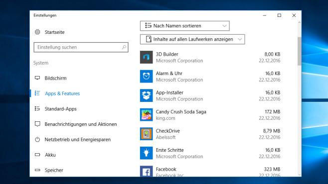 Software-Unterstützung – Windows 10 ©COMPUTER BILD