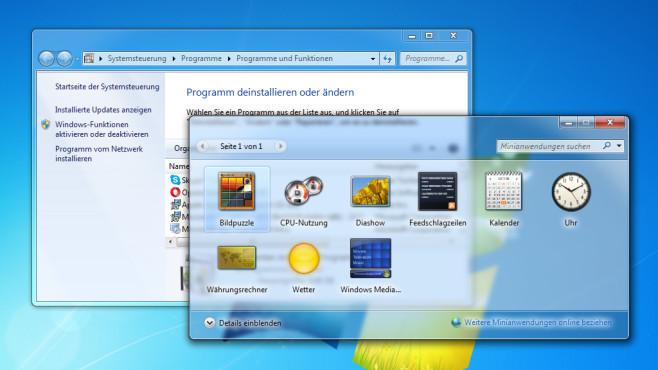 Software-Unterstützung – Windows 7 ©COMPUTER BILD