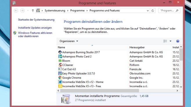 Software-Unterstützung – Windows 8 ©COMPUTER BILD