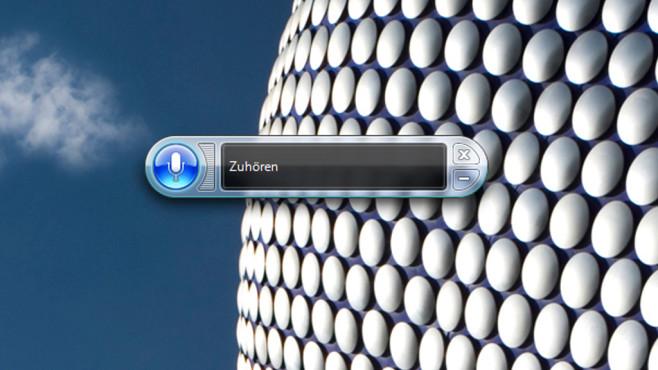 Sprachsteuerung – Windows 7 ©COMPUTER BILD