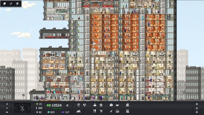 Project Highrise Screenshot©Somasim/Kasedo Games