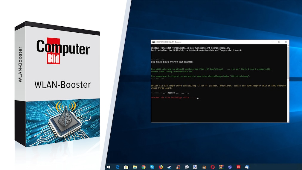 Windows 7/8/10: WLAN im Akkubetrieb langsamer - das hilft Notebooks sind für den Einsatz unterwegs gemacht - Windows steht maximal performanten Datentransfers jedoch im Weg.