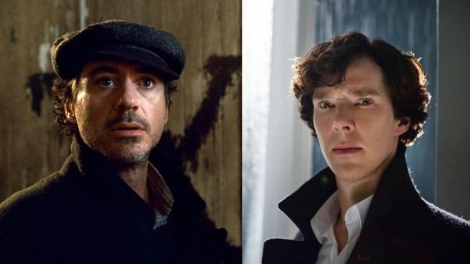Collage Cumberbatch/Downey Jr.©Warner Brothers/ARD