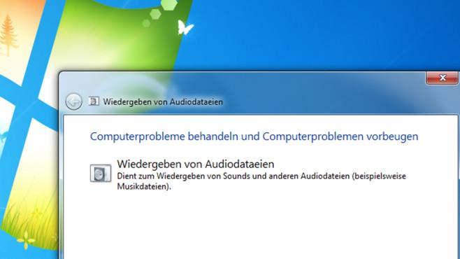 Wiedergeben von Audiodatateien ©COMPUTER BILD