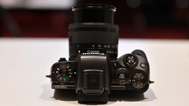 Canon EOS M5©COMPUTER BILD