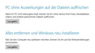 Windows 8: Charms-Bar erscheint nicht mehr©COMPUTER BILD