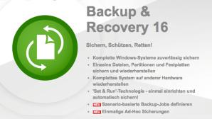 Paragon Backup & Recovery 16 gratis©Paragon Technologie GmbH