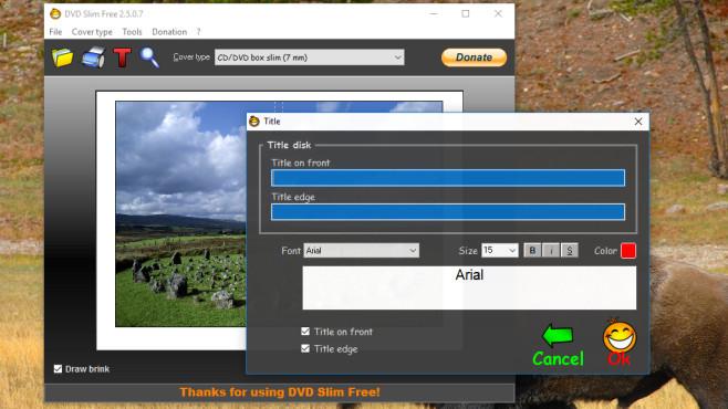 Elefantentrick: DVDSlimFree ©COMPUTER BILD