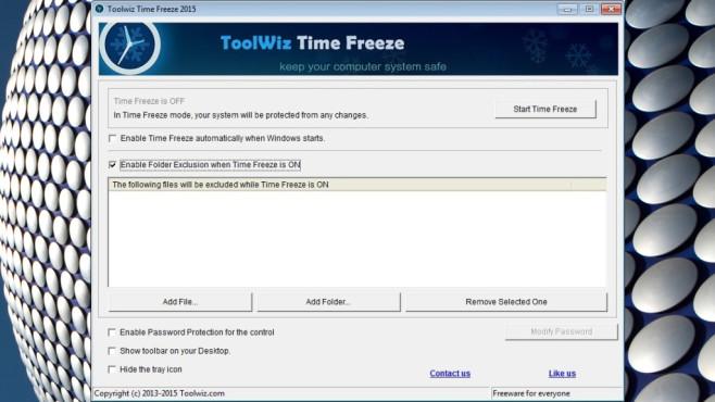 Robustheit gegen Eis: Toolwiz TimeFreeze, AntiFreeze ©COMPUTER BILD