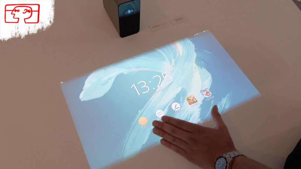 Sony Xperia Projector: Der ultimative Android-Beamer