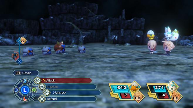 World of Final Fantasy©Square Enix
