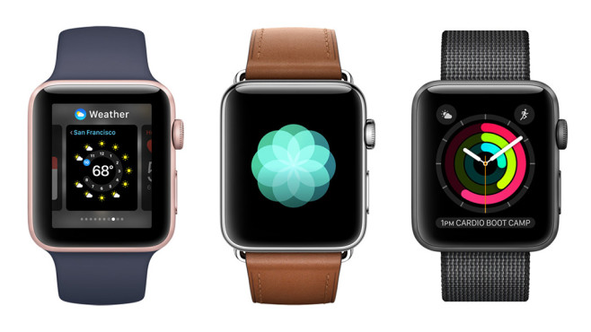 watch OS 3 © Apple