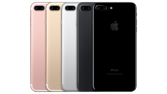 iPhone 7 Plus: Überholt Apples neues Flaggschiff endlich die Konkurrenz? In diesen Farben ist das iPhone 7 Plus zu kaufen.©Apple