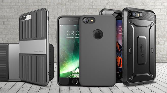 iPhone 7 und iPhone 7 Plus Hüllen©iBlason, Supcase, IVSO , rendermax – Fotolia.com