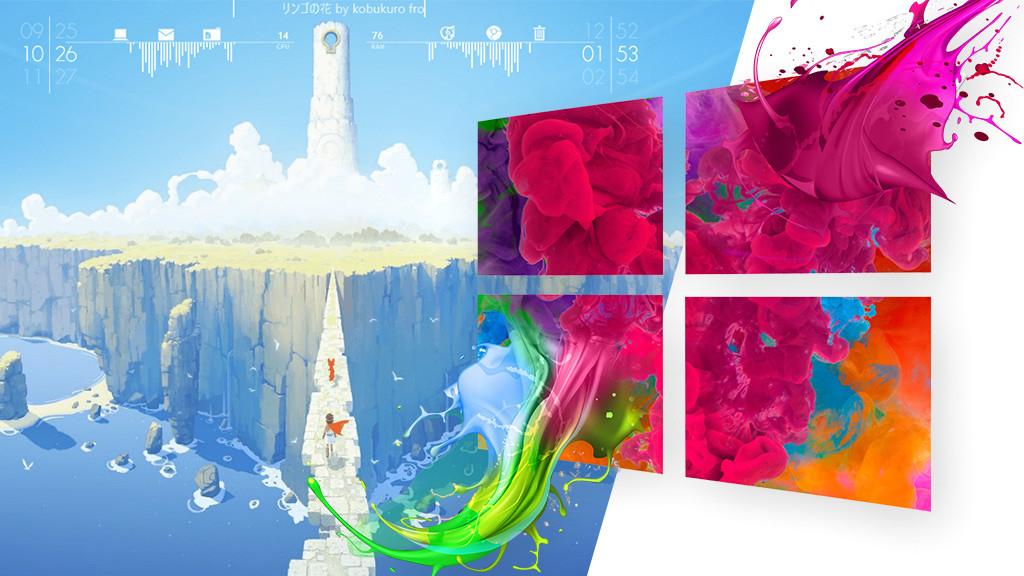 Animierte desktop hintergrunde windows 10 kostenlos